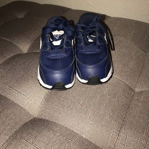 Nike Shoes - Infant/ toddler Nike Air Max Navy sz 5
